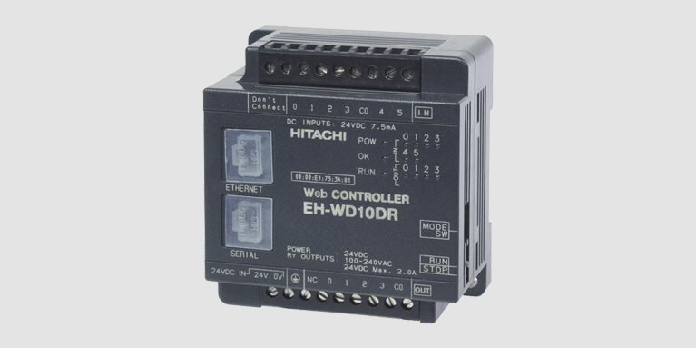 EH WD10DR web controller
