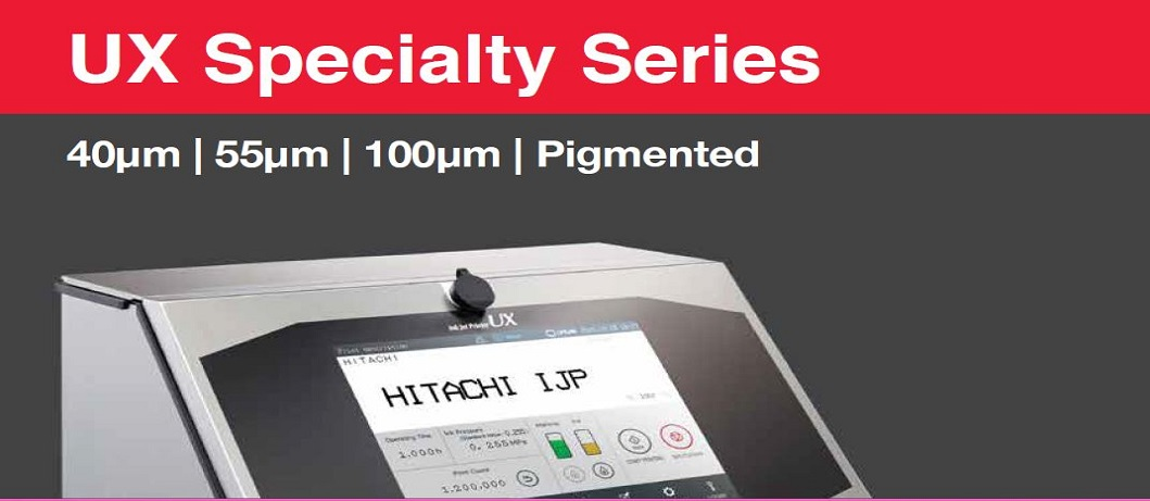 Hitachi Inkjet Printer UX Specialty Series